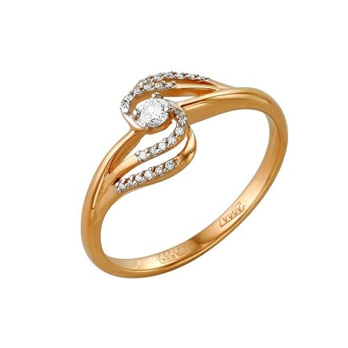 Кольцо из белого золота Бриллиант арт. 1-105-135 1-105-135