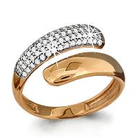Золотое кольцо Фианит арт. 63005а 63005а