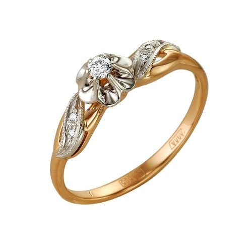 Золотое кольцо Бриллиант арт. 1-104-793 1-104-793