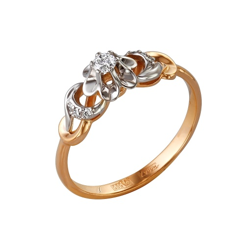 Золотое кольцо Бриллиант арт. 1-105-88 1-105-88