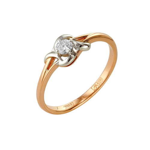 Золотое кольцо Бриллиант арт. 1-104-988 1-104-988