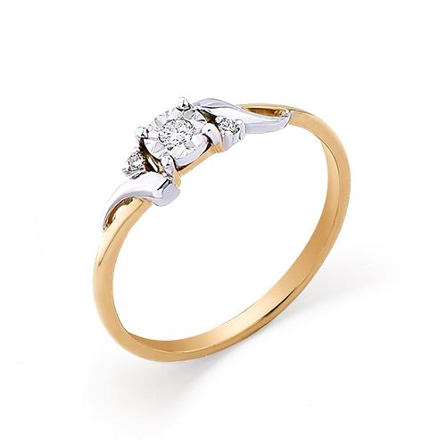 Кольцо из белого золота Бриллиант арт. 1-104-907 1-104-907