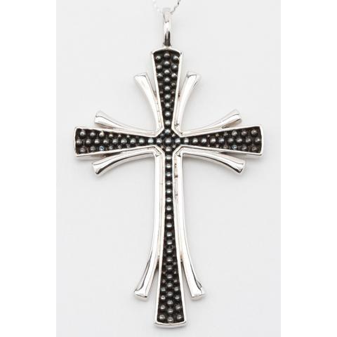 Серебряный крест арт. 52п-0435 52п-0435