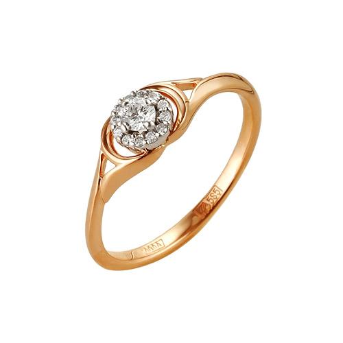 Золотое кольцо Бриллиант арт. 1-104-950 1-104-950