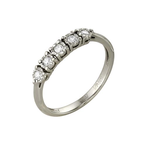 Кольцо из белого золота Бриллиант арт. 1-104-914 1-104-914