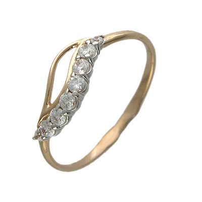 Золотое кольцо Фианит арт. 01к115144 01к115144