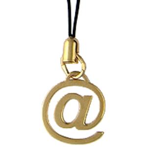 Брелок на мобильный из золота с тканью арт. 0рп010122 0рп010122
