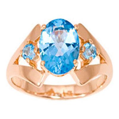 Золотое кольцо Топаз арт. 1008951-11220-т 1008951-11220-т