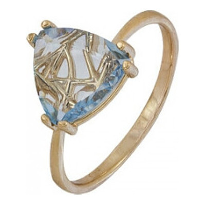 Золотое кольцо Топаз арт. 1070001895 1070001895