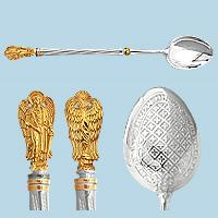 Чайная ложка из серебра арт. 70601 70601