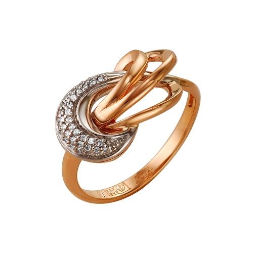 Кольцо из лимонного золота Бриллиант арт. 1-105-208 1-105-208