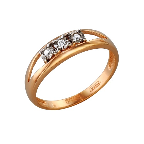 Золотое кольцо Бриллиант арт. 1-105-269 1-105-269