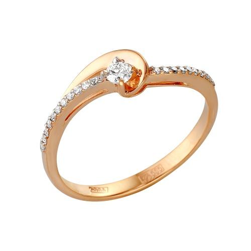 Кольцо из белого золота Бриллиант арт. 1-105-291 1-105-291