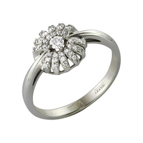 Кольцо из белого золота Бриллиант арт. 1-105-312 1-105-312