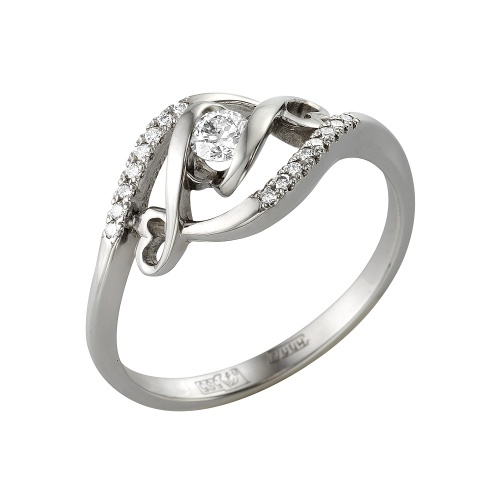 Кольцо из белого золота Бриллиант арт. 1-105-324 1-105-324