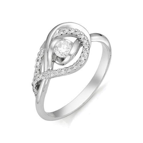 Кольцо из белого золота Бриллиант арт. 1-105-327 1-105-327