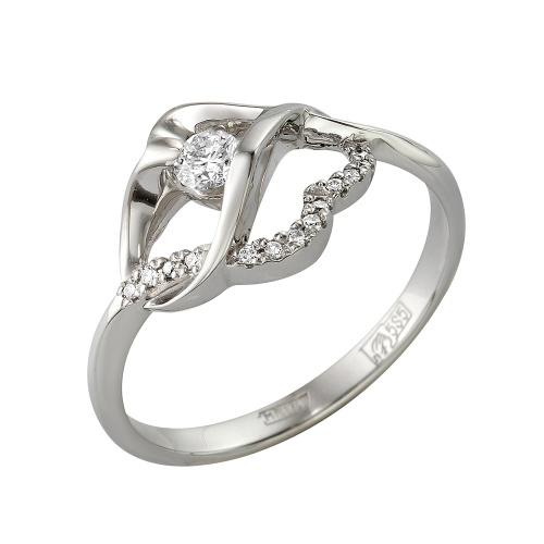 Кольцо из белого золота Бриллиант арт. 1-105-328 1-105-328