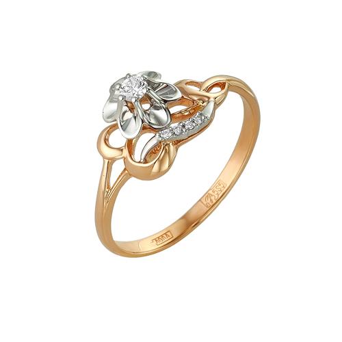 Золотое кольцо Бриллиант арт. 1-105-37 1-105-37