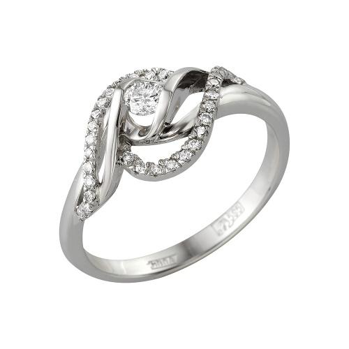 Кольцо из белого золота Бриллиант арт. 1-105-332 1-105-332