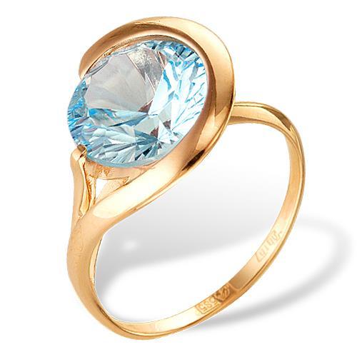 Золотое кольцо Топаз арт. 1180667 1180667
