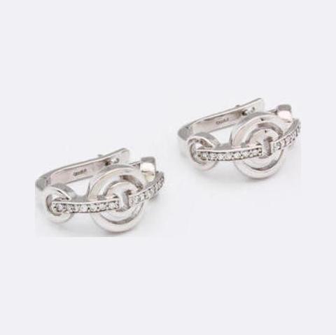 Серебряные серьги с цирконием арт. е4208 е4208