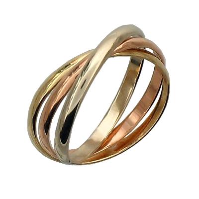 Обручальное кольцо из золота арт. 01о060022 01о060022