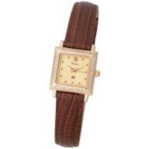 Женские часы из золота с фианитом арт. 90256 90256