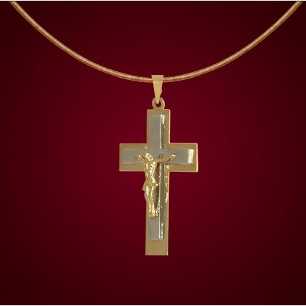 Крест из белого золота арт. 0341541 0341541