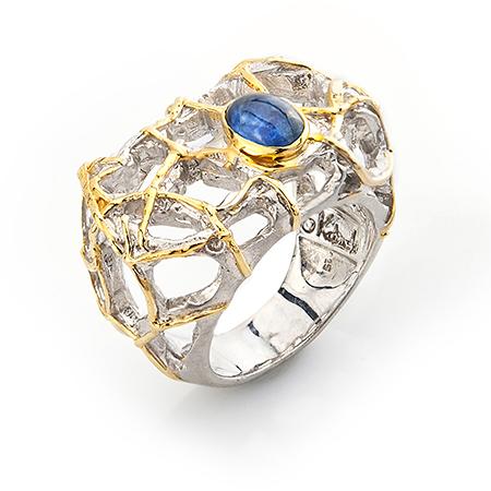 Серебряное кольцо Гранат арт. 100202 100202