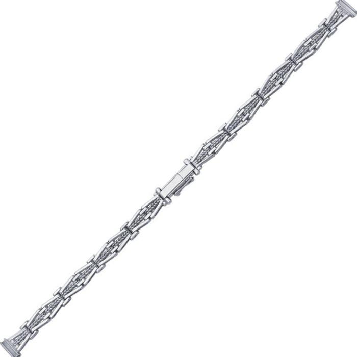 Женский браслет для часов из серебра размер присоединительного ушка 8 арт. 77590 77590