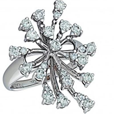 Кольцо из белого золота Бриллиант арт. 010116 010116