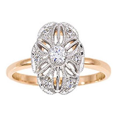 Золотое кольцо Бриллиант арт. 1011011-13240 1011011-13240