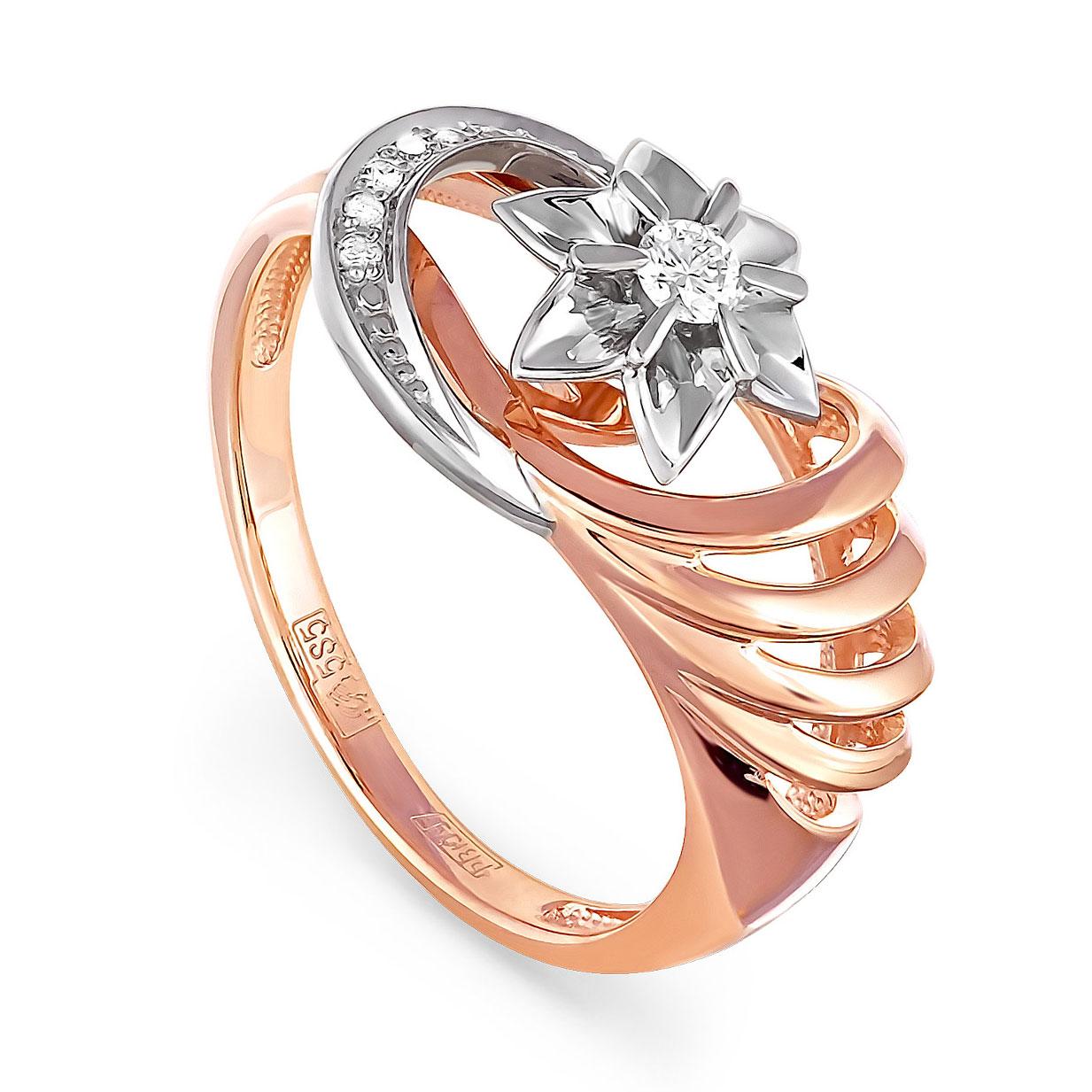 Золотое кольцо Бриллиант арт. 11-0342 11-0342