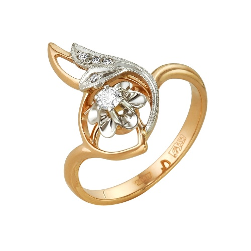 Золотое кольцо Бриллиант арт. 1-104-373/1 1-104-373/1
