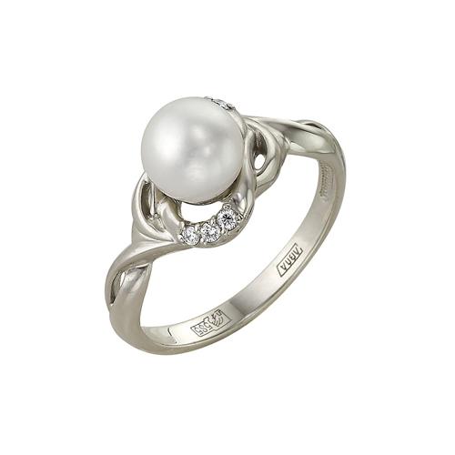 Золотое кольцо Бриллиант и Жемчуг арт. 1-104-994 1-104-994