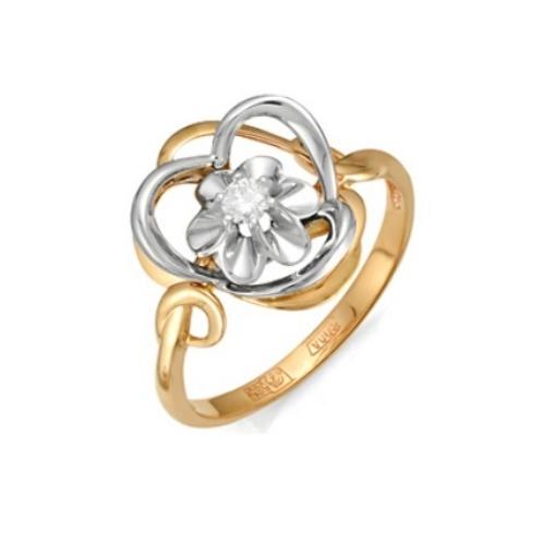 Золотое кольцо Бриллиант арт. 1-105-136 1-105-136