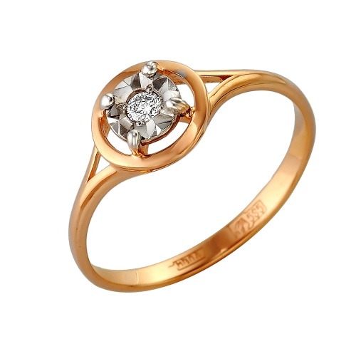 Золотое кольцо Бриллиант арт. 1-105-265 1-105-265