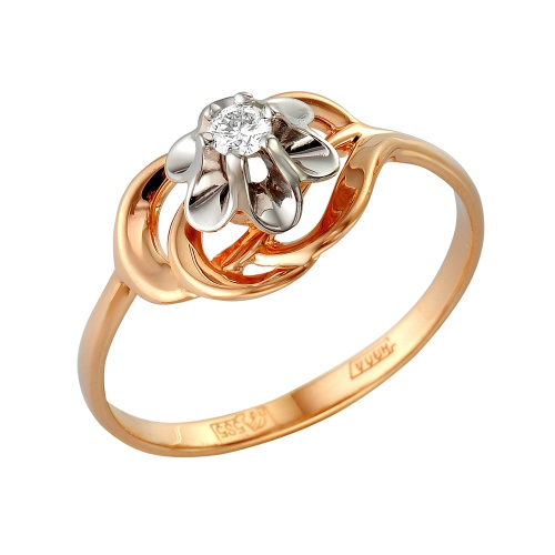 Золотое кольцо Бриллиант арт. 1-105-268 1-105-268