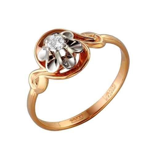 Золотое кольцо Бриллиант арт. 1-105-283 1-105-283