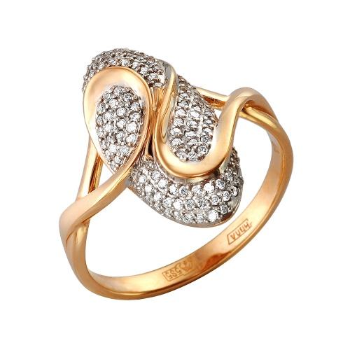 Кольцо из белого золота Бриллиант арт. 1-105-305 1-105-305