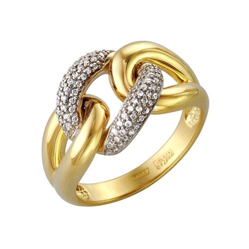 Кольцо из лимонного золота Бриллиант арт. 1-105-319 1-105-319