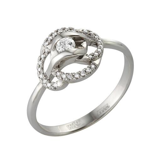 Кольцо из белого золота Бриллиант арт. 1-105-331 1-105-331