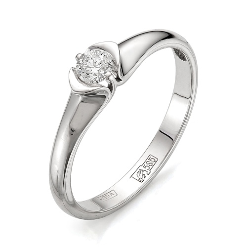 Кольцо из белого золота Бриллиант арт. 1-105-399 1-105-399