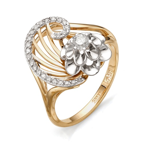 Золотое кольцо Бриллиант арт. 1-105-402 1-105-402