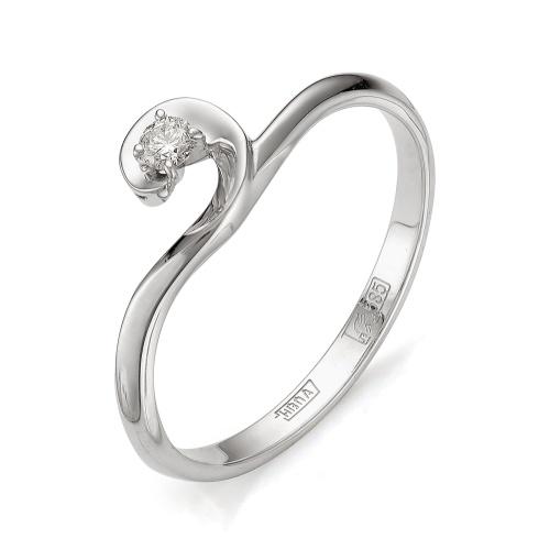 Кольцо из белого золота Бриллиант арт. 1-105-411 1-105-411