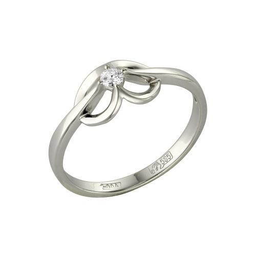 Кольцо из белого золота Бриллиант арт. 1-105-424 1-105-424