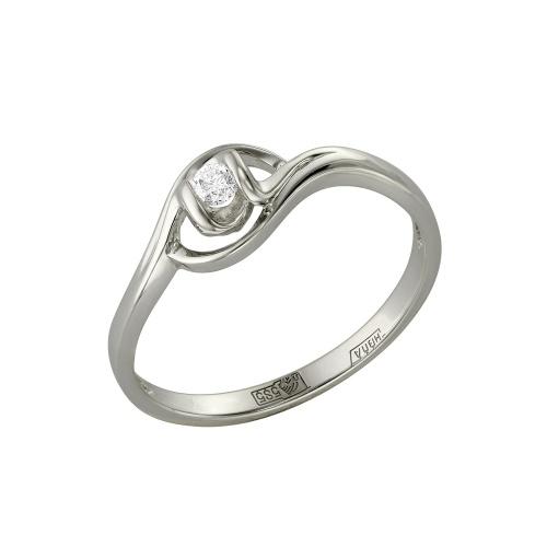 Кольцо из белого золота Бриллиант арт. 1-105-431 1-105-431