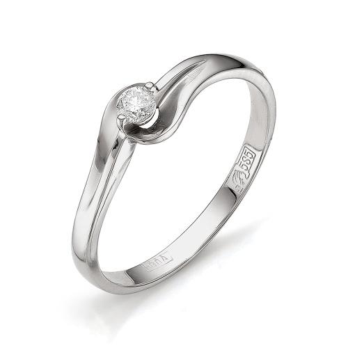 Кольцо из белого золота Бриллиант арт. 1-105-441 1-105-441