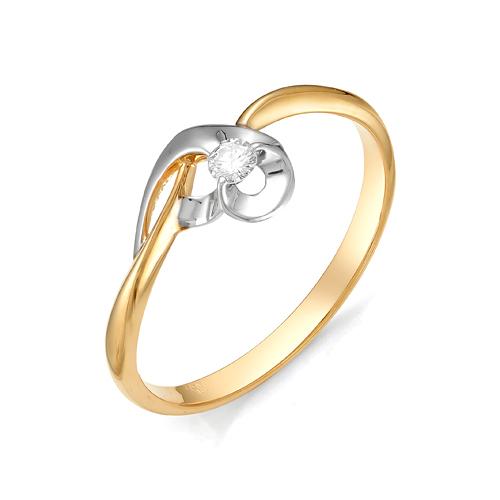 Кольцо из белого золота Бриллиант арт. 1-105-473 1-105-473