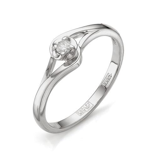 Кольцо из белого золота Бриллиант арт. 1-105-456 1-105-456
